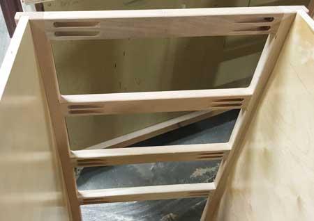 screwed-frame