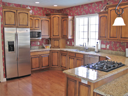 Hardwood Kitchen Cabinets, Custom Built. Evansville ...