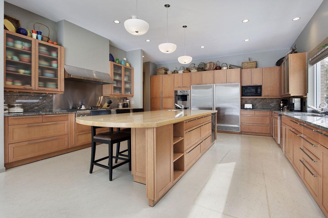 hardwood kitchen cabinets custom built evansville indiana amish