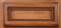 Panel Drawer with Rope Molding
