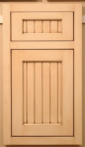 Beaded Door Flat Panel Panel