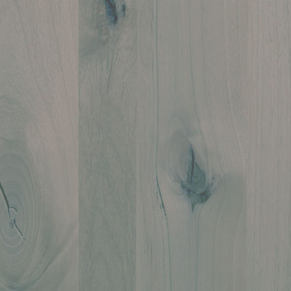 Knotty Alder Stained Grey